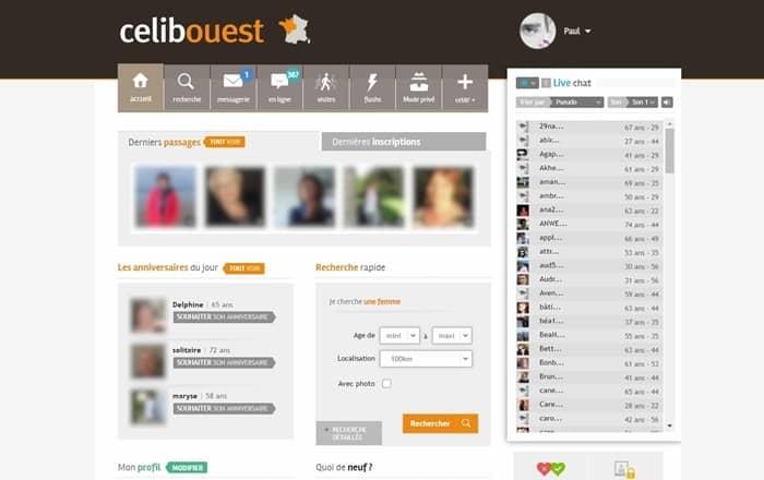 Page d'accueil CelibOuest