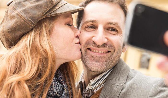 couple avec écart d'âge