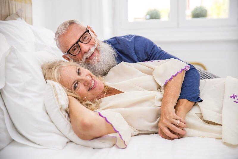 Quels avantages présente le sexe à 60 ans et plus